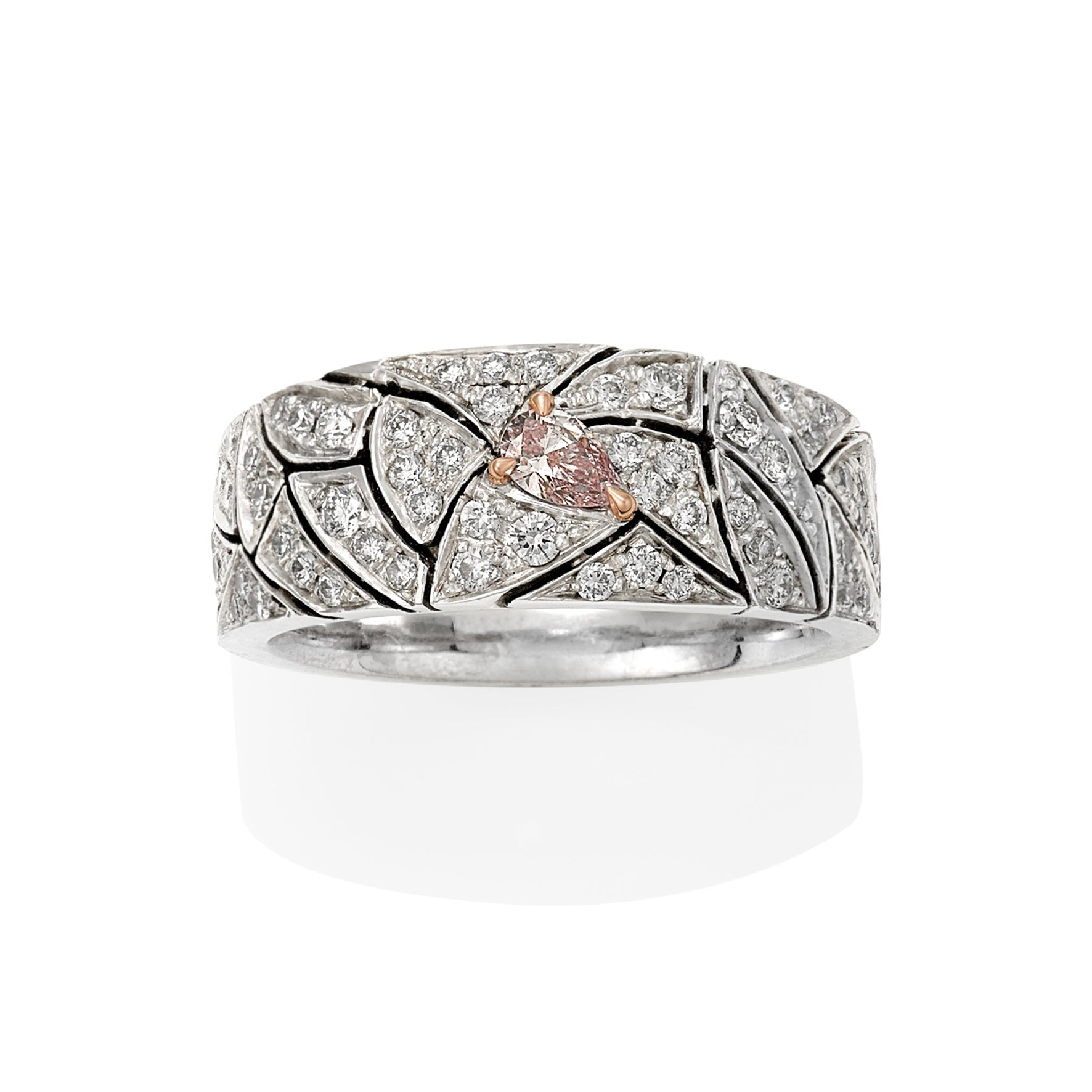 Opera Ring - Pink Diamond Dress Ring