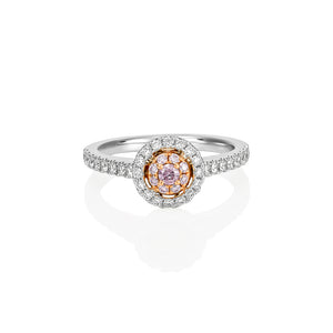 Argyle Pink 'Destiny' Ring