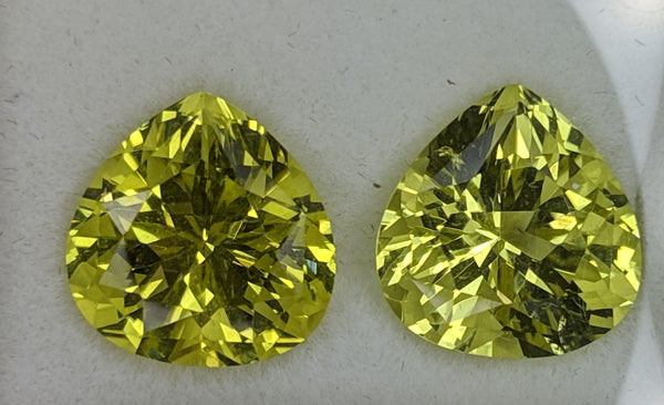15.34ct Tear shape Lemon Quartz