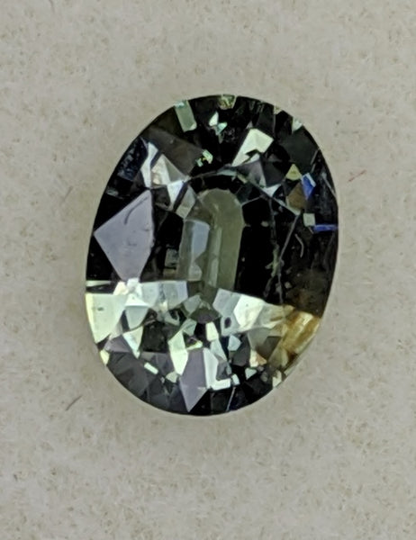 0.71ct Oval Sapphire