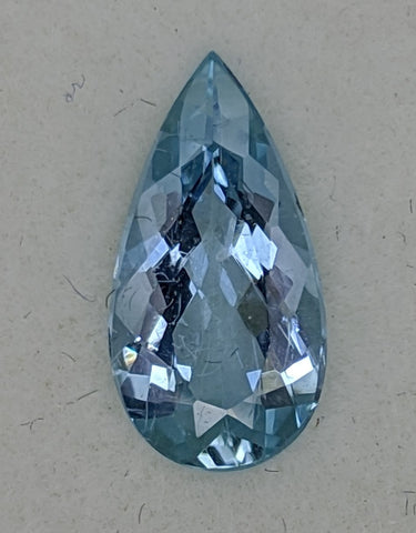 1.48ct Pear shape Aquamarine