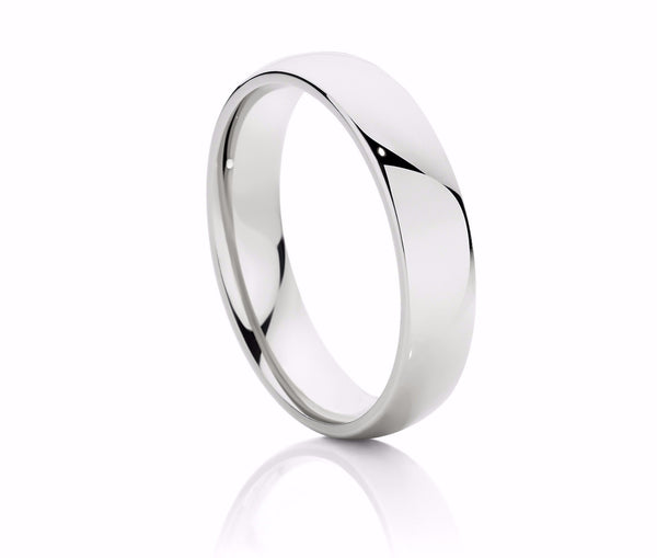 Classic 6mm Half Round Wedding Ring