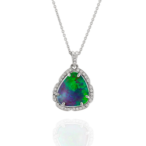 4.80ct Crystal Opal Pendant