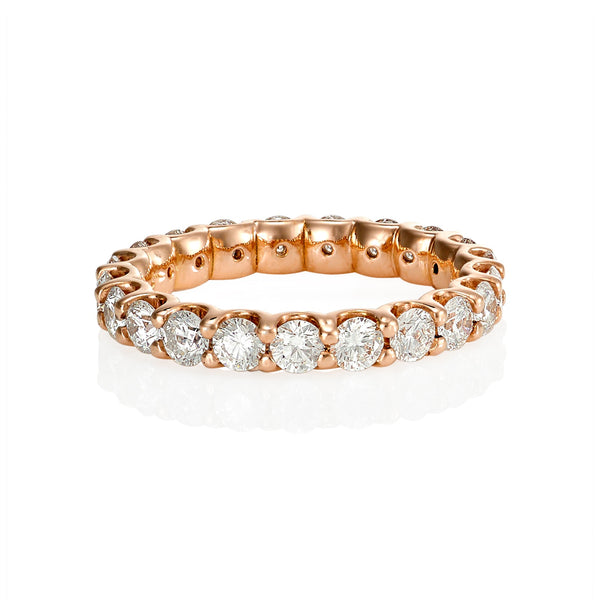 Shared Claw Eternity Ring