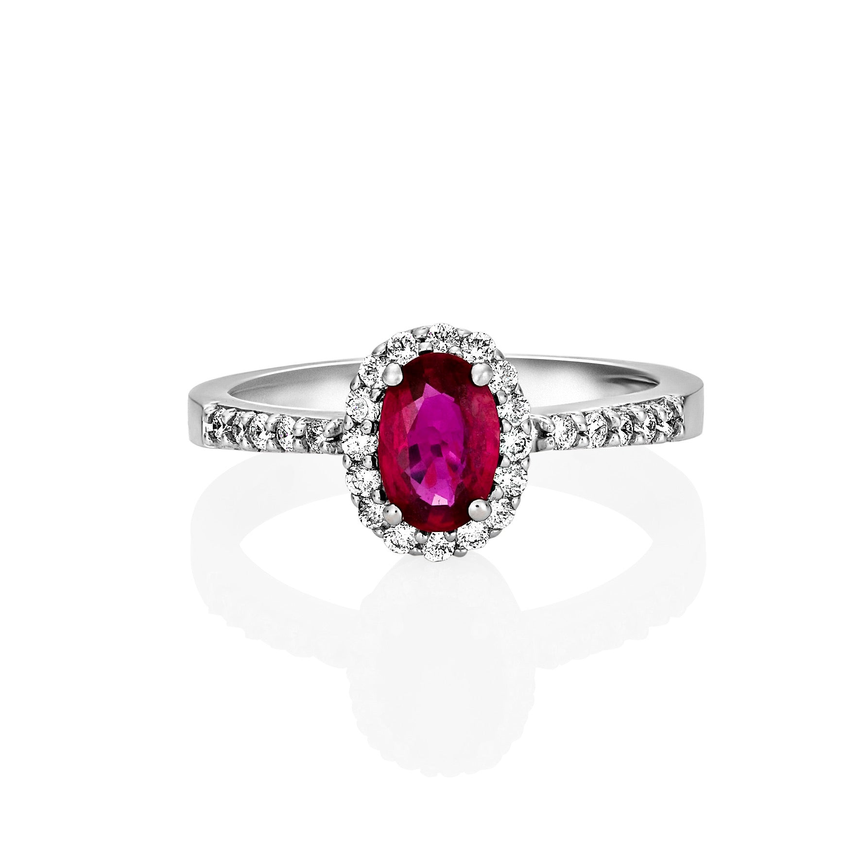 Natural Burmese Ruby Dress Ring
