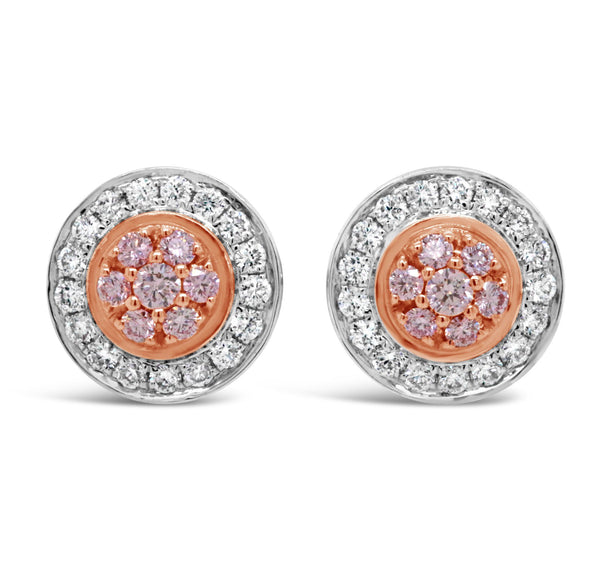 Argyle Pink Diamond 'Ava' Earrings