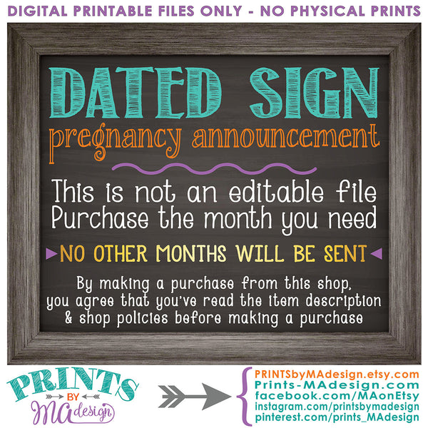 "Easter Pregnancy Announcement Sign, Some Bunny is going to be a Big Sister, Baby #2 due in SEPTEMBER Dated PRINTABLE Chalkboard Style New Baby Reveal Sign, Print as 8x10"" or 16x20"", Instant Download Digital Printable File - PRINTSbyMAdesign"