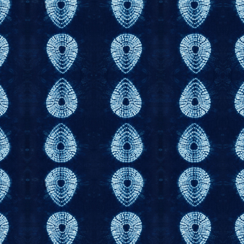 Indigo Nui Tear Drop Fabric