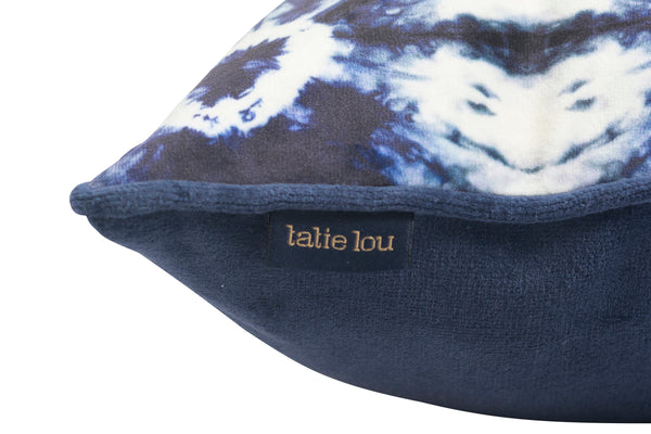 Indigo Kanoko Cushion