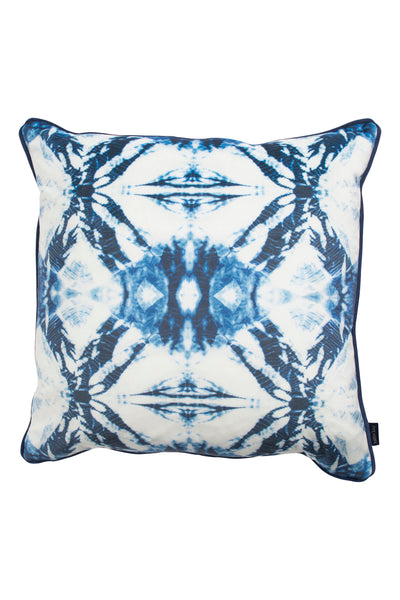 Indigo Kumo Butterfly Cushion