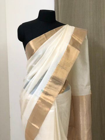Pure tussar silk saree