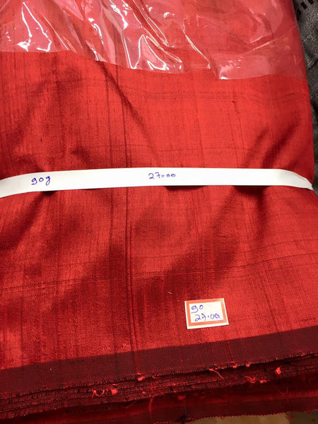 Pure raw silk 90 grams