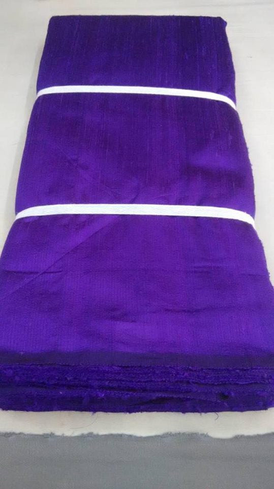 DUPION PURE RAW SILK FABRIC