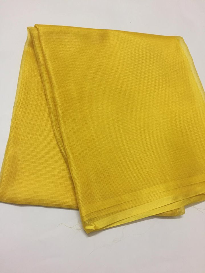 Pure silk Kota kurta fabric