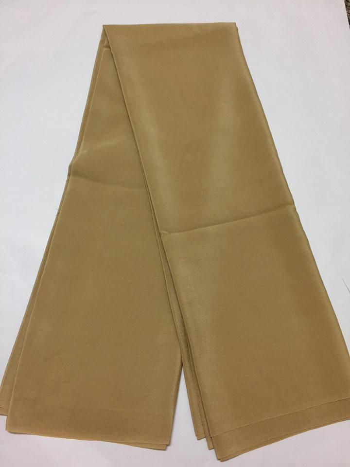 Pure silk crepe fabric