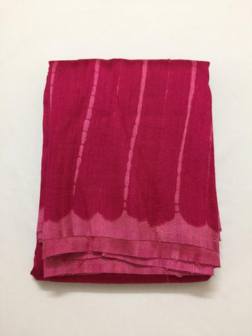 Shibori tie and dye pure raw silk kurta