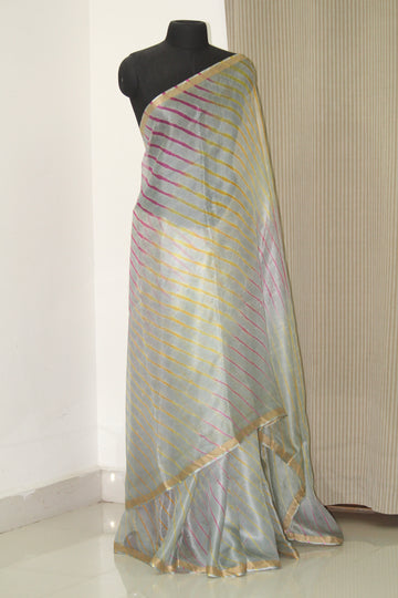 Pure kota silk leheriya saree