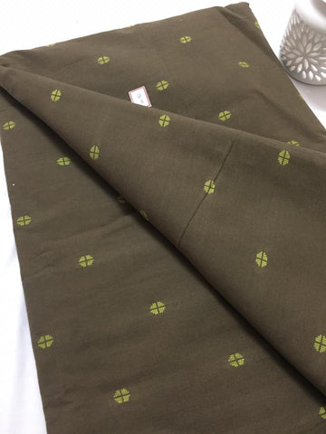 Jacquard Cotton kurta fabric