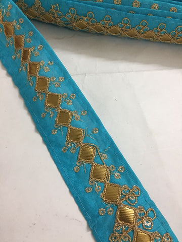 Buy Indian Embroidered saree Laces and Trims , Saree Border online