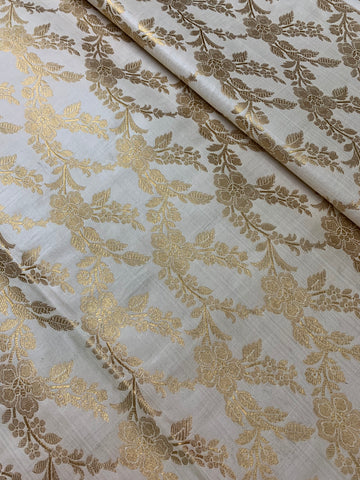 Banarasi brocade fabric