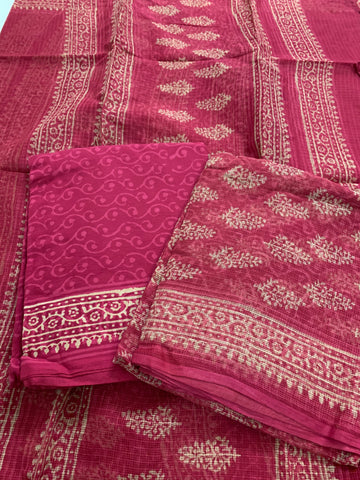 Kota salwar suit with dupatta
