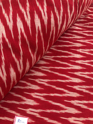 Ikat cotton fabric