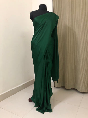 Satin saree