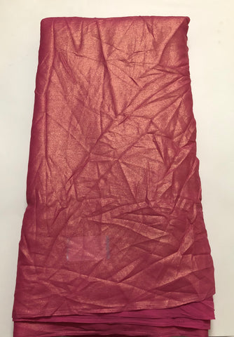 Shimmer georgette fabric (4.5 )