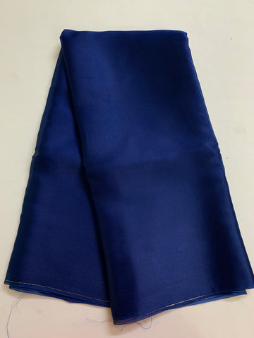 PURE SILK SATIN ORGANZA SAREE 50 grams