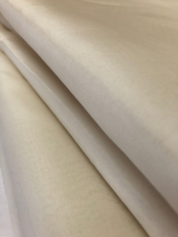 DYEABLE PURE SILK ORGANZA FABRIC CUSTOMISE 40 GRAMS