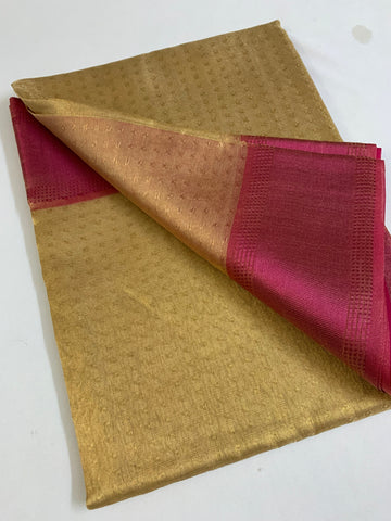 Pure tissue saree