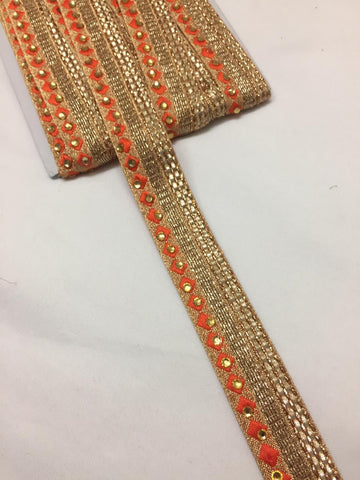 Buy Embroidered Trims and laces online. Saree laces and saree border online. Buy Tassels, patches, cut work laces and necklines online.