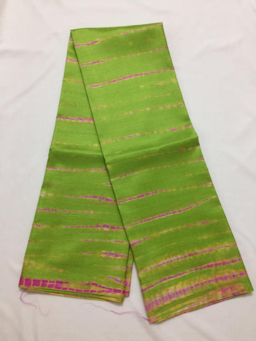 Tie and dye pure silk  saree