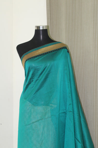 Pure chanderi silk saree with blouse