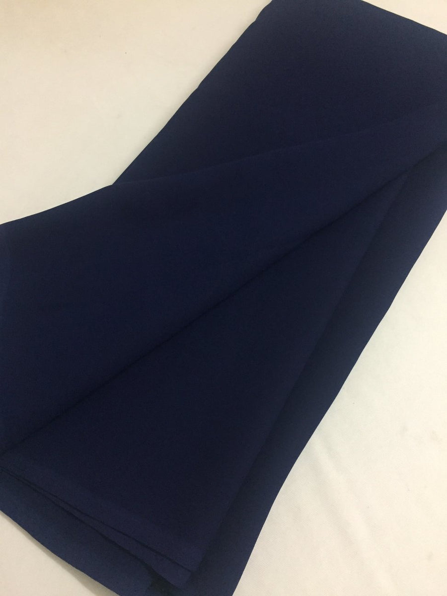 PLAIN GEORGETTE 2 metre cut