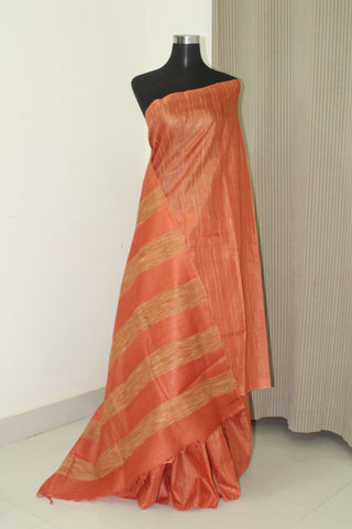 Pure gicha silk saree with blouse