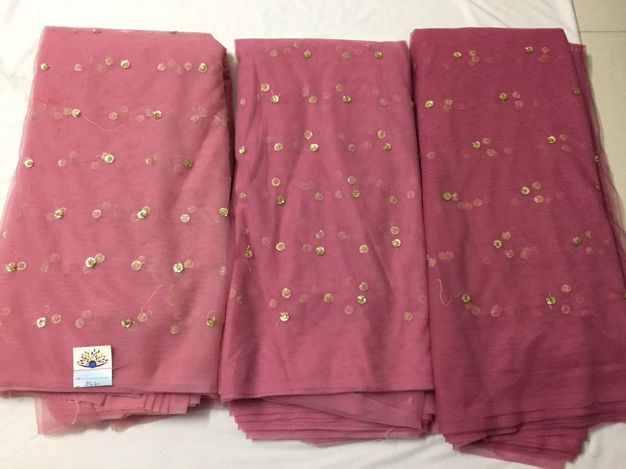 Butti net fabric