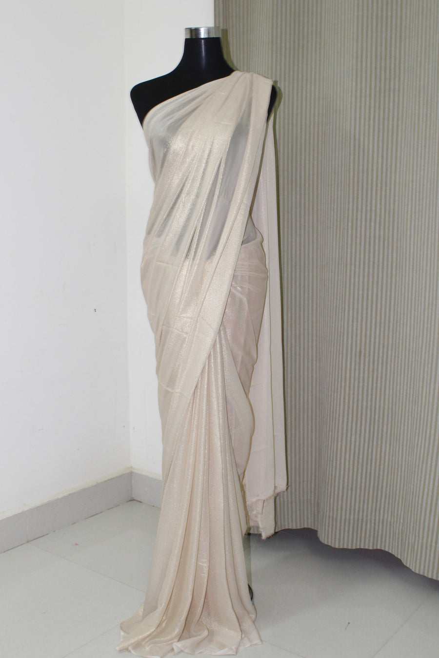 Shimmer georgette saree (customise)