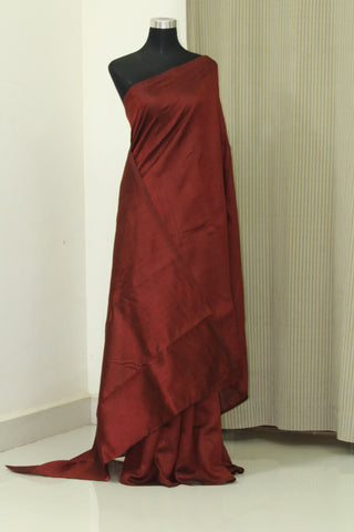 Pure Dupion silk saree , pure raw silk saree, maroon saree, maroon raw silk saree, pure silk saree online