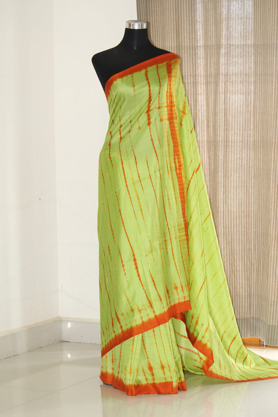 Tie and dye saree