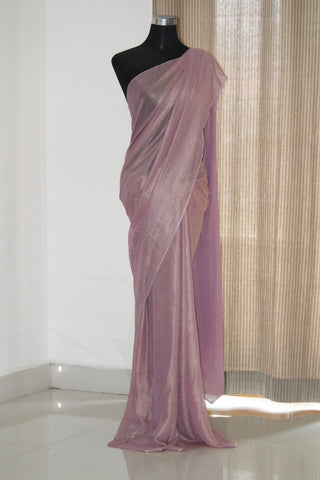 Shimmer georgette saree