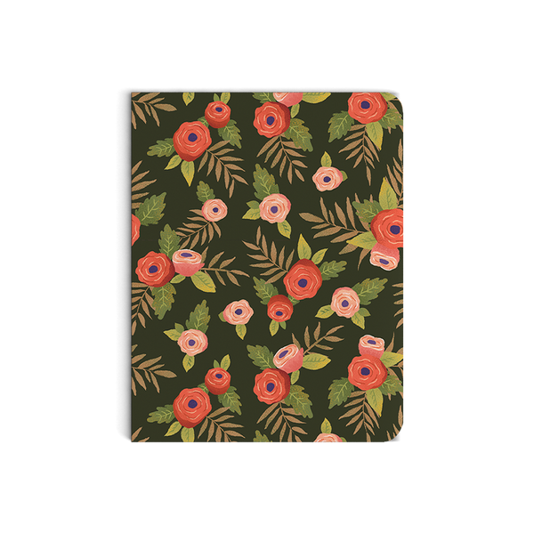 Midnight Flora Notebook