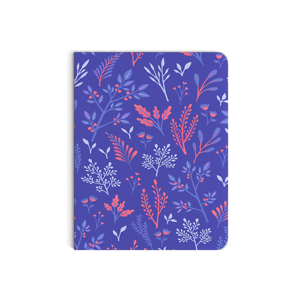 Tricolor Botany Notebook
