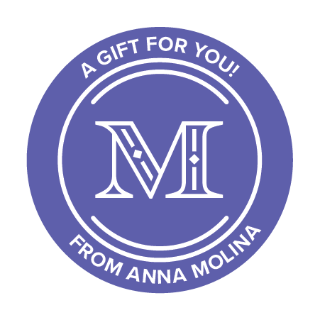 Monogram Custom Sticker Gift Label