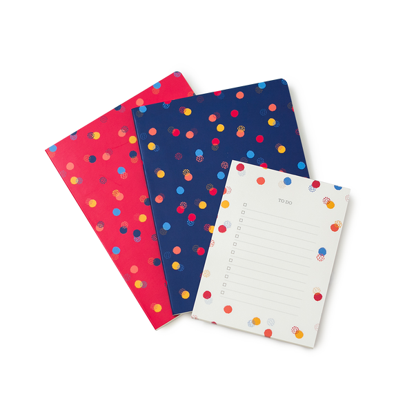 Polka Stationery Set