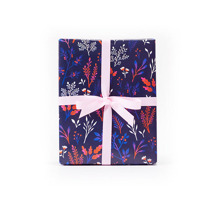 Tricolor Botany Gift Wrap