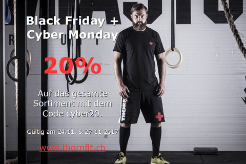 Black Friday & Cyber Monday - 20% Rabatt