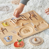 Personalised Objects At Home Wooden Puzzle