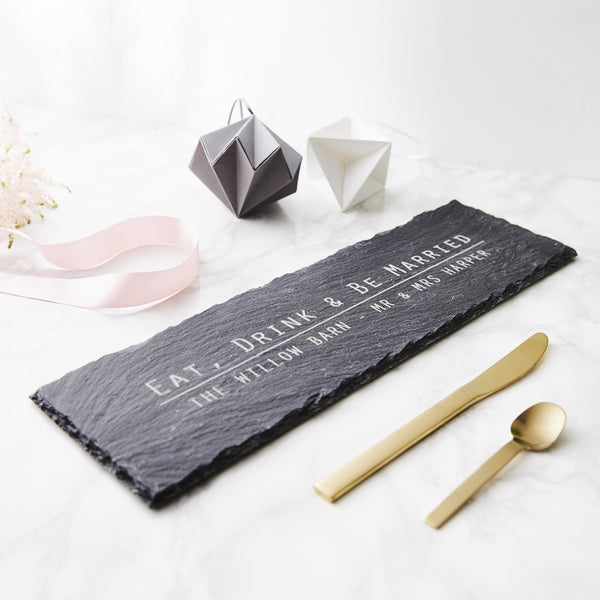 Personalised Slate Cheese Board