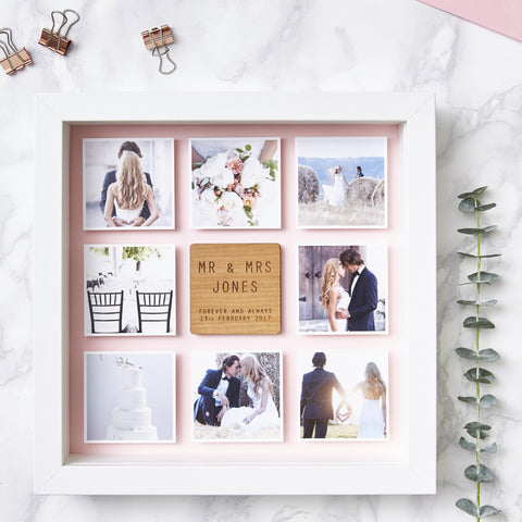 Personalised Framed Wedding Photo Print